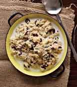 Spiced Millet Pudding