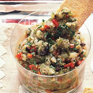 Spicy Caponata Caviar