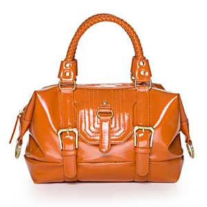 Sunset glazed satchel