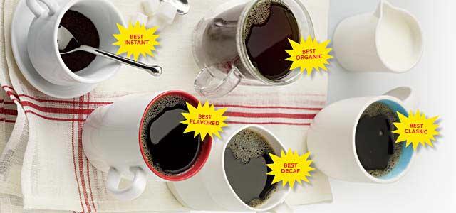 taste test coffee