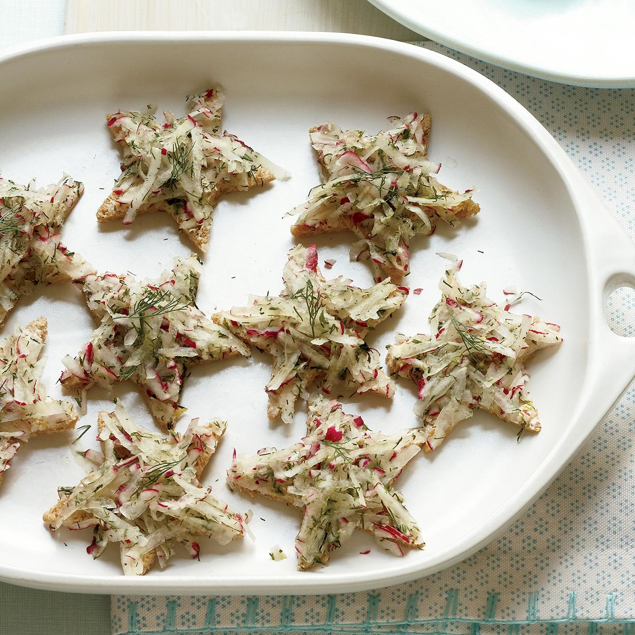 Twinkle, Twinkle, Little Star Tea Sandwiches