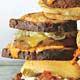 veggie burger reuben melt