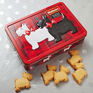 Walkers dog shortbread cookies