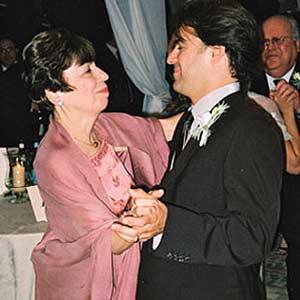 Wedding- John with his Mom