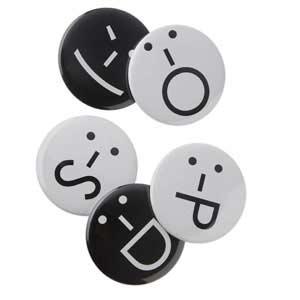 Fun Emot Icon Magnets