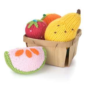 Fun Fruit Rattles