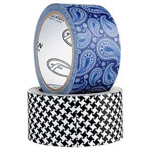 Rolls of Duct Tape with Patterns