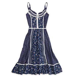 Calico Dress