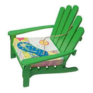 Green Adirondak Chair