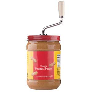 Fun Peanut Butter Mixer