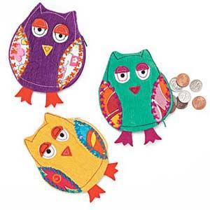 Fun Owl Coin Purse