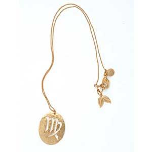 Gold Zodiac Pendant