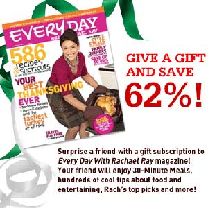 Give a gift and save 62%!