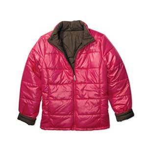 Walmart pink puffy coat jacket