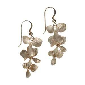 cascading Dogwood Earrings
