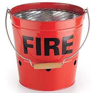 Grilling bucket