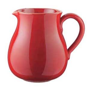Italian red Ceramic Pitcher