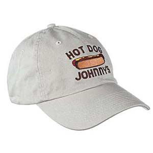 Jonny's hot dog hat