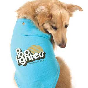poo Fighters dog shirt