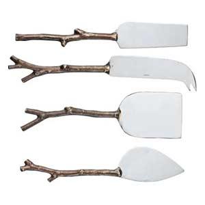 twig Cheese Knives Set