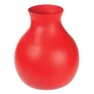 Red Rubber Vase