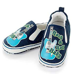 Rock and Roll baby shoes
