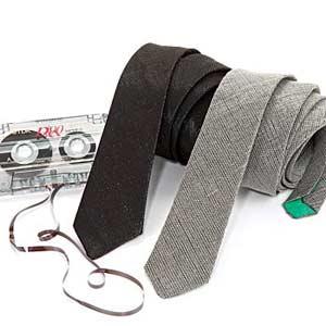 Sonic fabric neckties