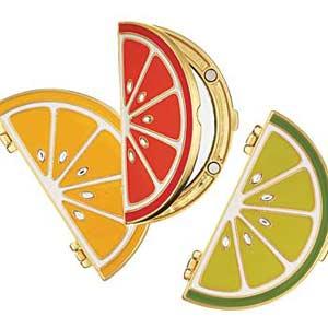 Fun Fruit Slice Compacts