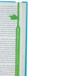 Fun Finger Print Bookmarke