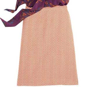 Herringbone Skirt