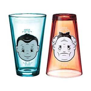 Fun Heads Up Juice Glasses