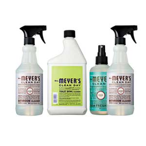 Bottles of Cleaner