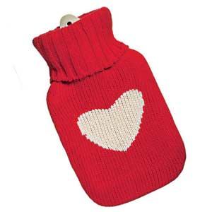 Fun Heart Hot Water Bottle