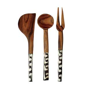 Serving Spoons and Fork