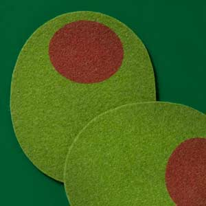 Olive Coasters