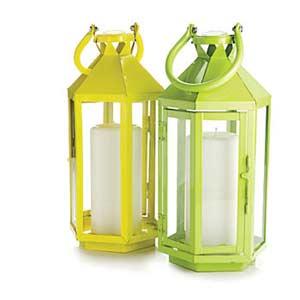 Yellow and Green Lanterns