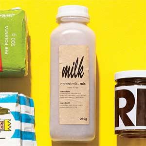 Cereal milk-mix