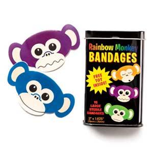 monkey bandages