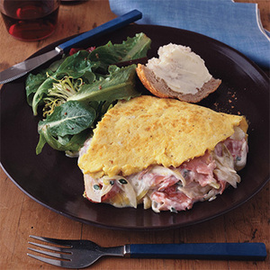 Alsace and Lorraine Omelet