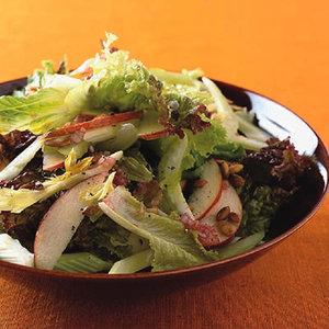 Autumn Greens and Apple Salad