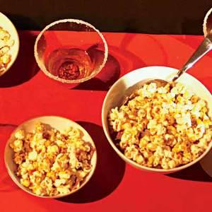 Bacon-Pecan Popcorn Clusters