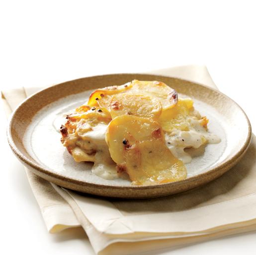 Bay-Rosemary Potato Gratin