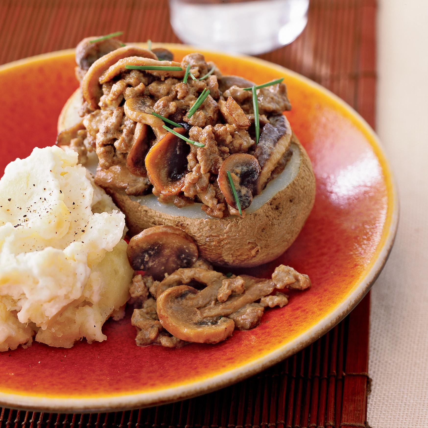 beef and potato stroganoff