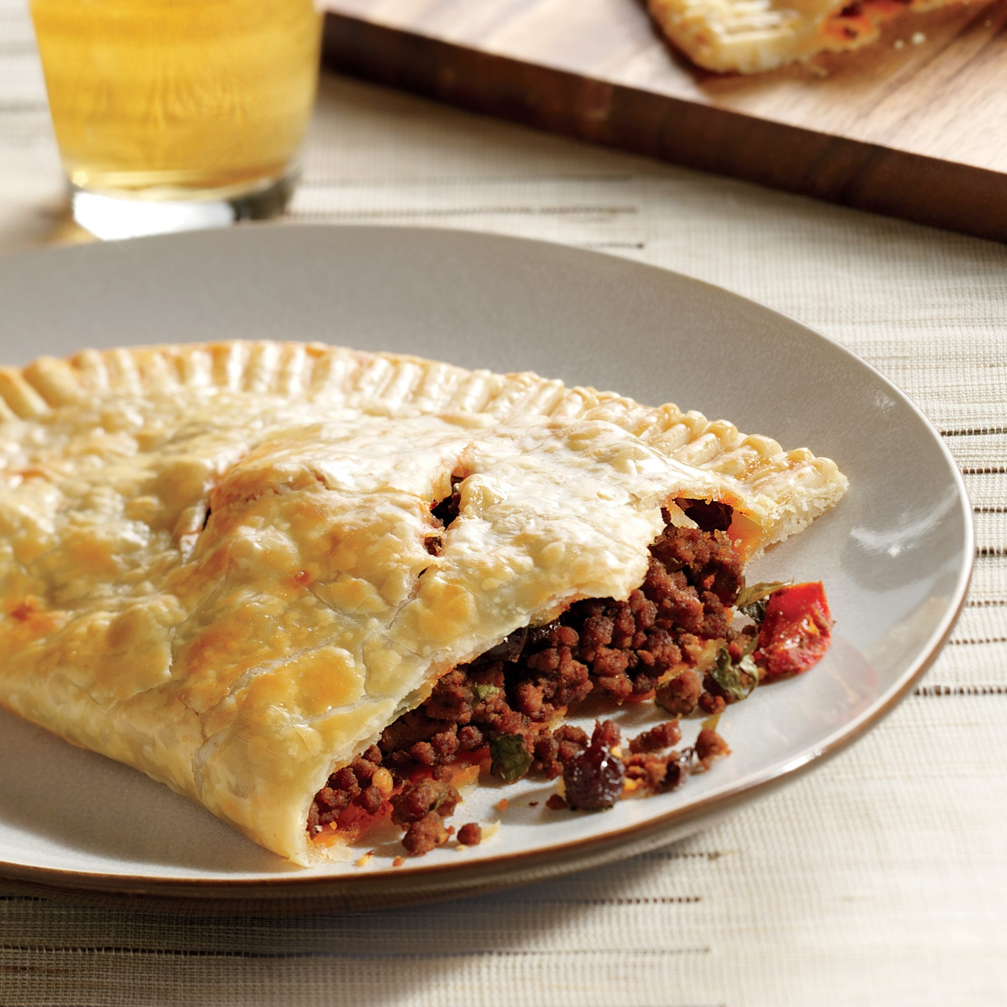 Beef Empanadas with Raisins and Pickled Pepper