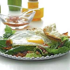 BLE (Bacon, Lettuce, Egg) Salad