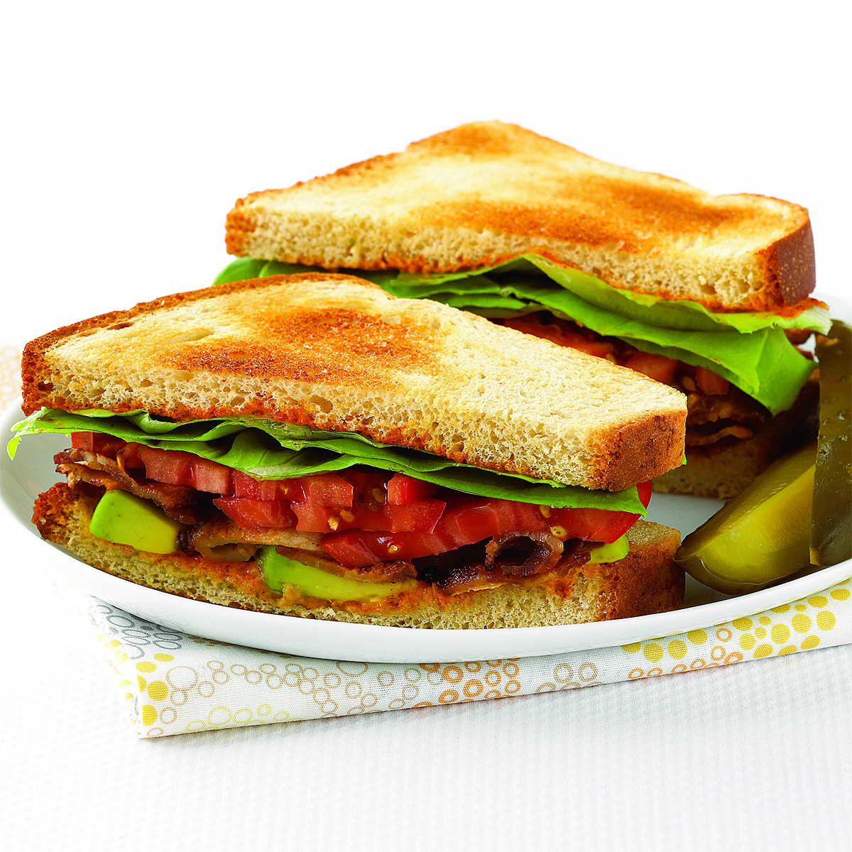 BLTs with Avocado and Spicy Mayo