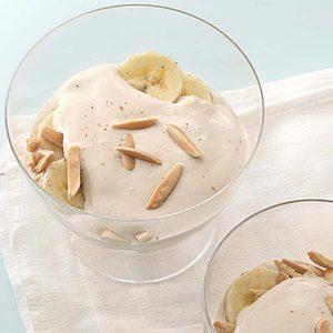 Cannoli Cream Banana Parfaits