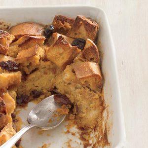 Cherry-Caramel Bread Pudding