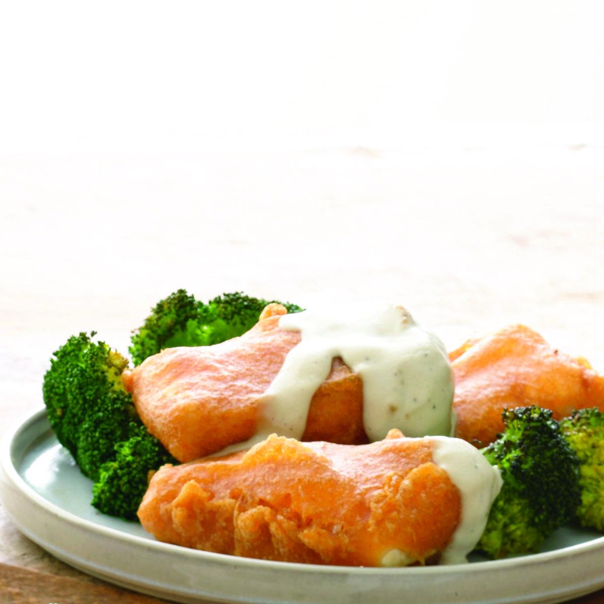 chicken-fried tofu