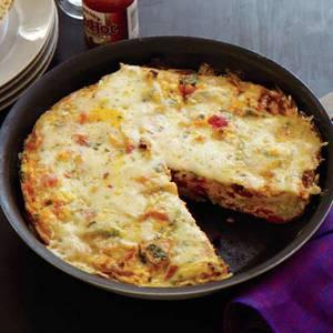 Chorizo-Tortilla Tortillas